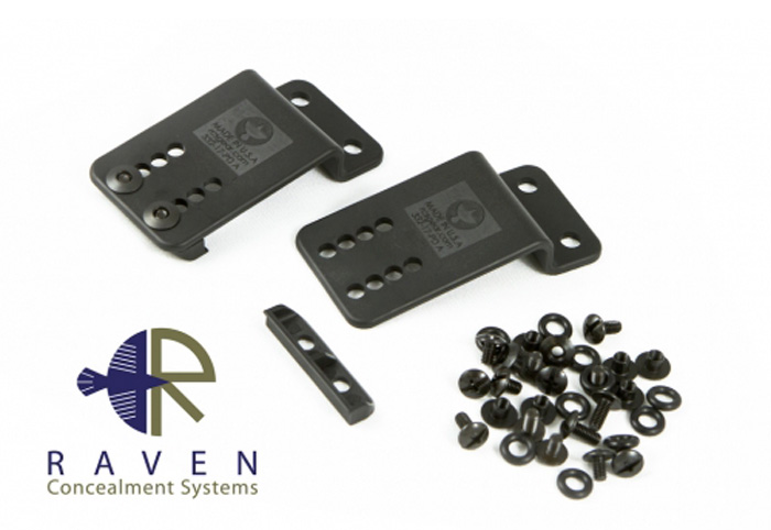 Raven Concealment Systems ModuLoader Frames Paddle Belt Clips