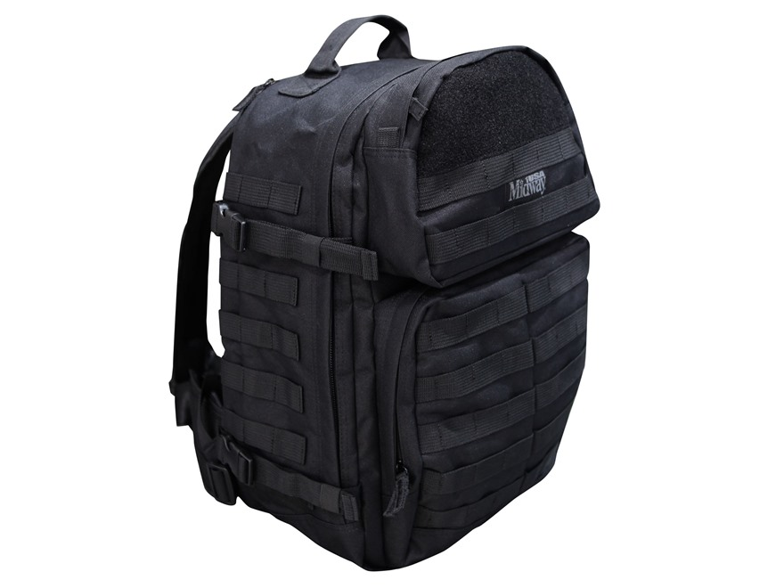 Тактический рюкзак MidwayUSA Tactical Backpack Nylon Black