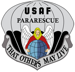 United States Air Force Pararescue logo