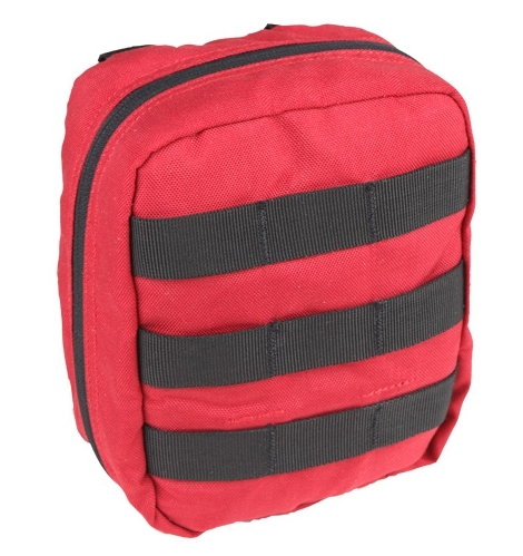 Набор первой помощи Red First Aid Medical Kit MOLLE Pouch от Medical Gear Outfitters