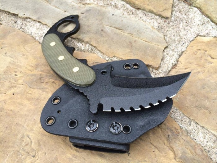 Shadow Tech Tri-Edge Combat Karambit