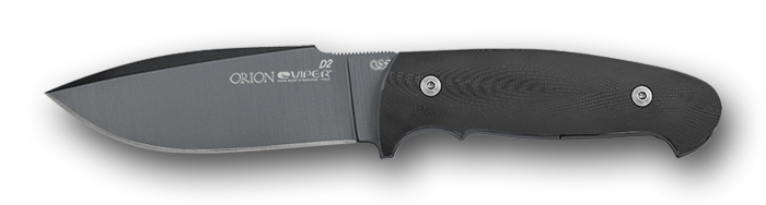 Viper Orion PVD coated blade - Black G-10 handle