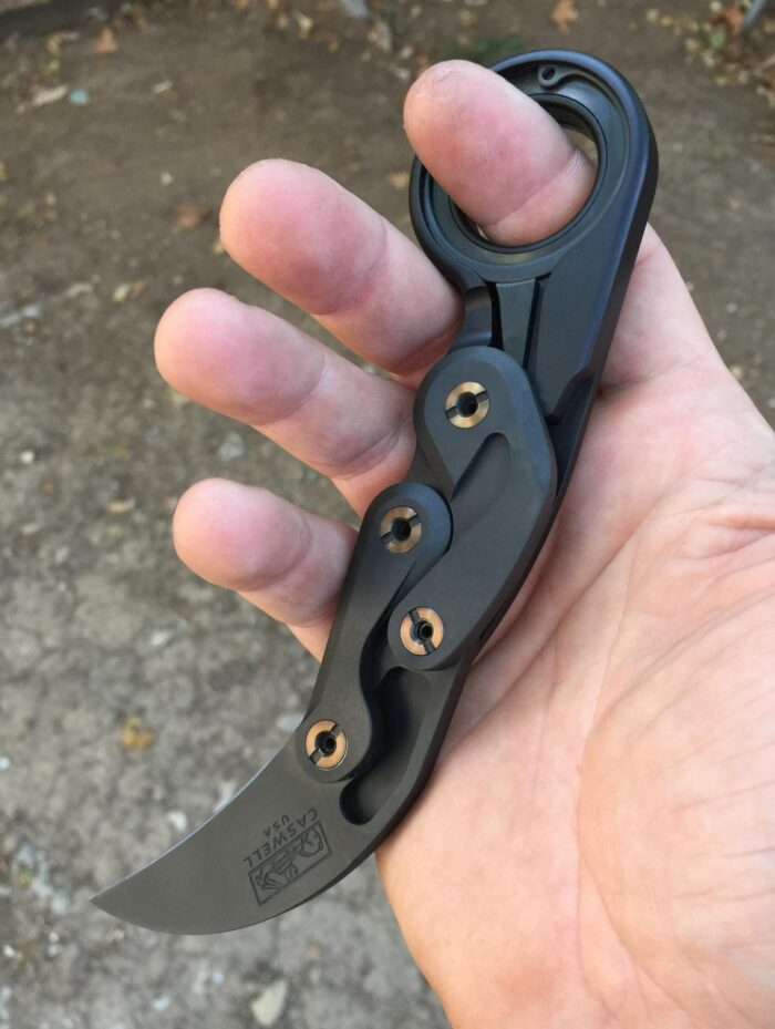 Caswell Knives Morphing Karambit Version 2